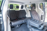 Chrysler Pacifica Touring-L third row rear seats