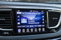 Chrysler Pacifica Touring-L infotainment touch screen