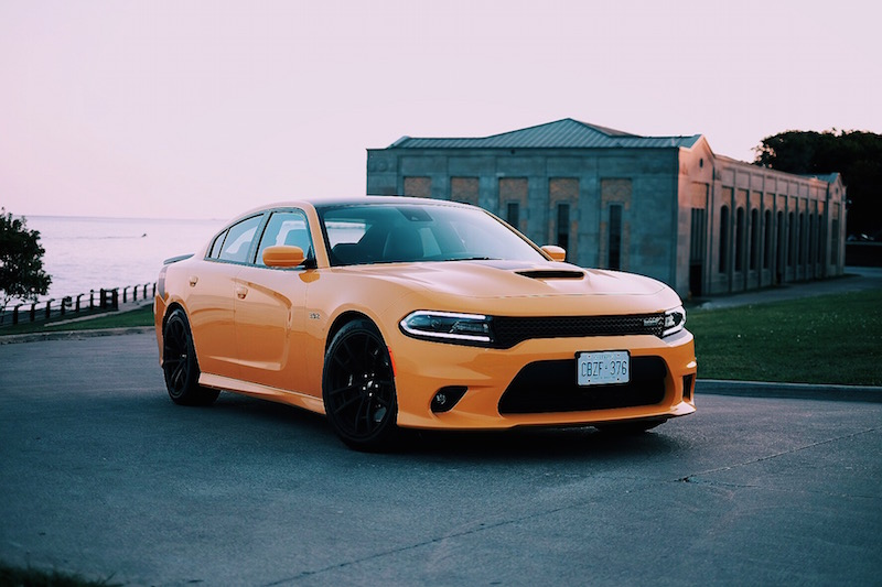 2017 Dodge Charger Daytona 392 go mango