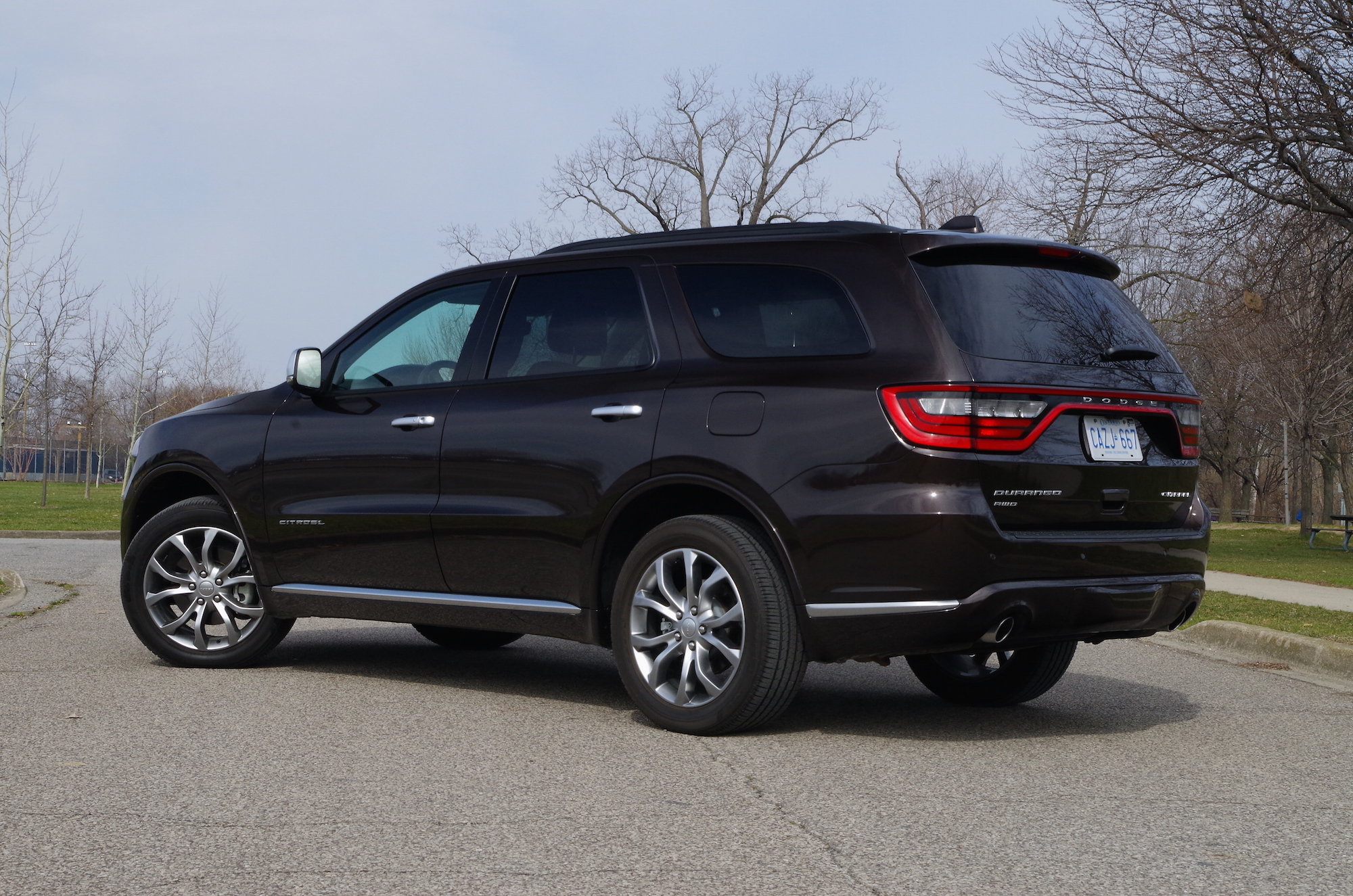 Review 2017 Dodge Durango Citadel