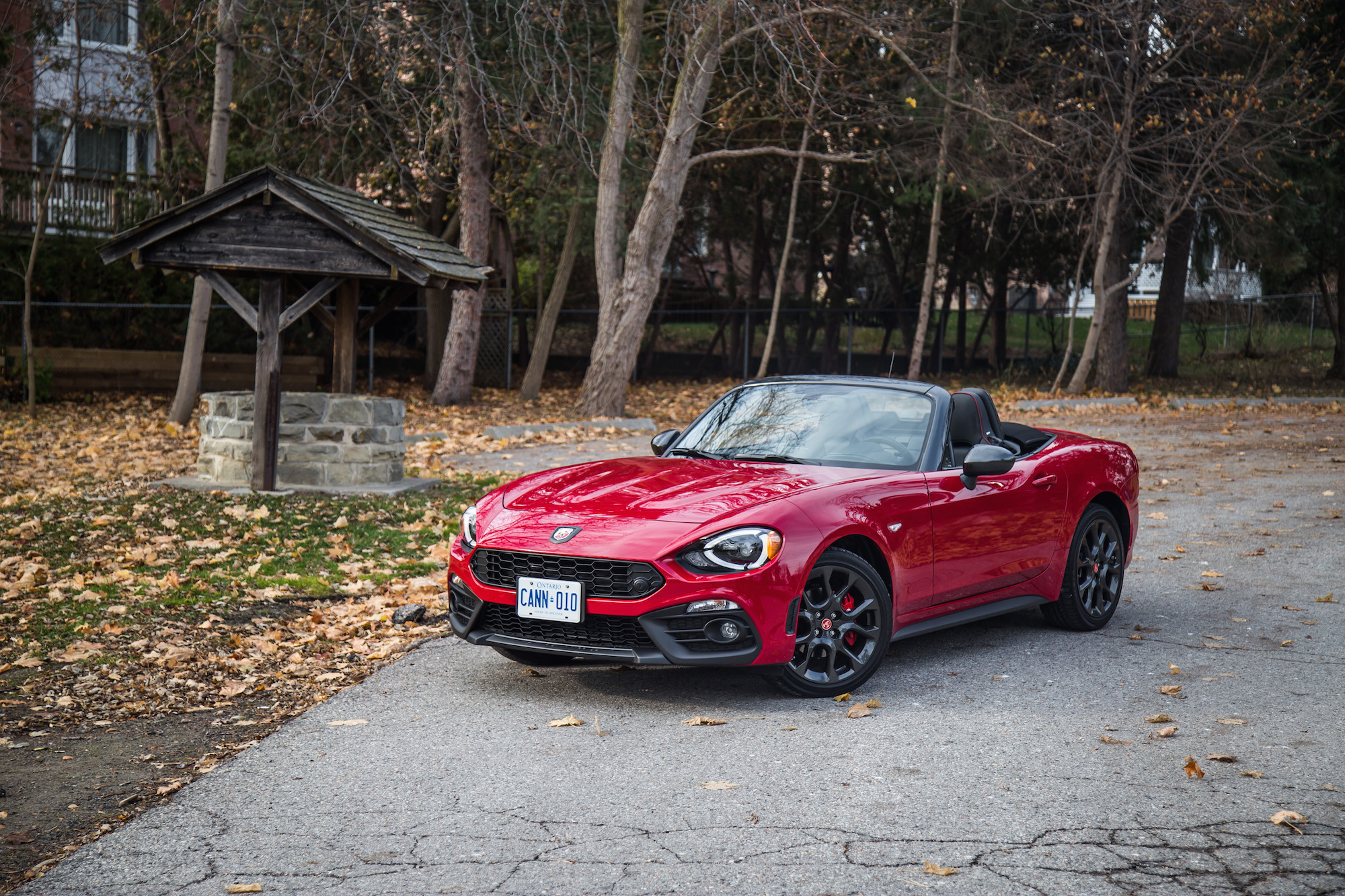 Review 2017 Fiat 124 Spider Abarth Canadian Auto Review