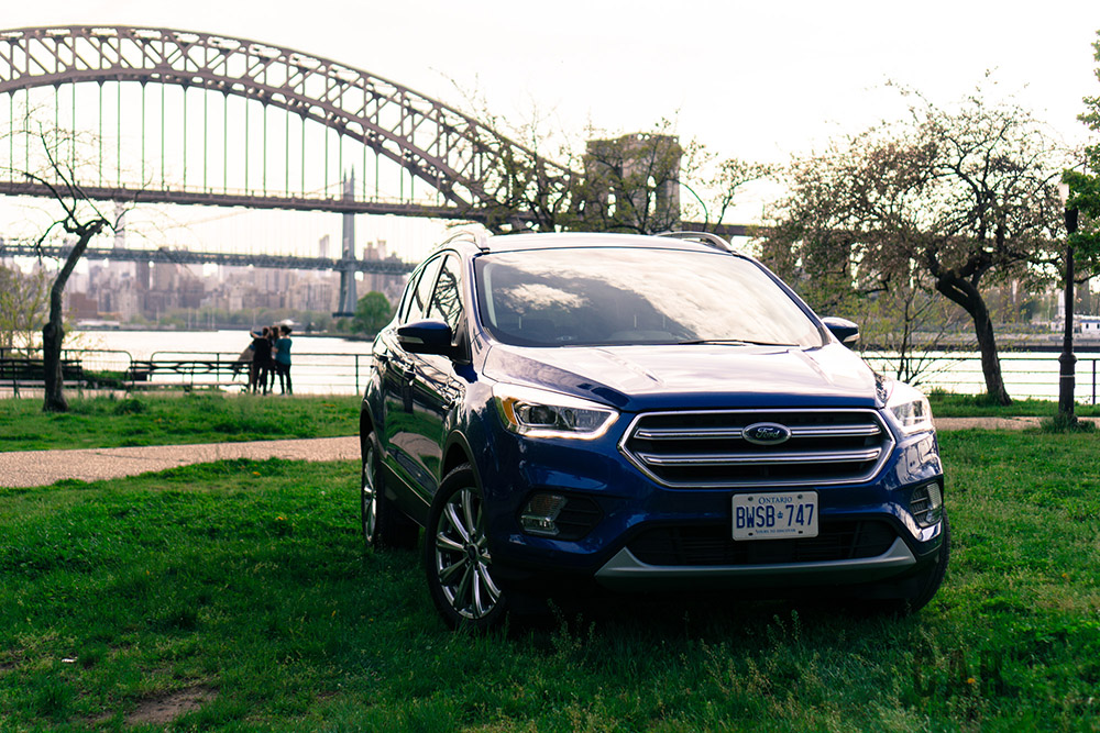ford escape in new york city road trip
