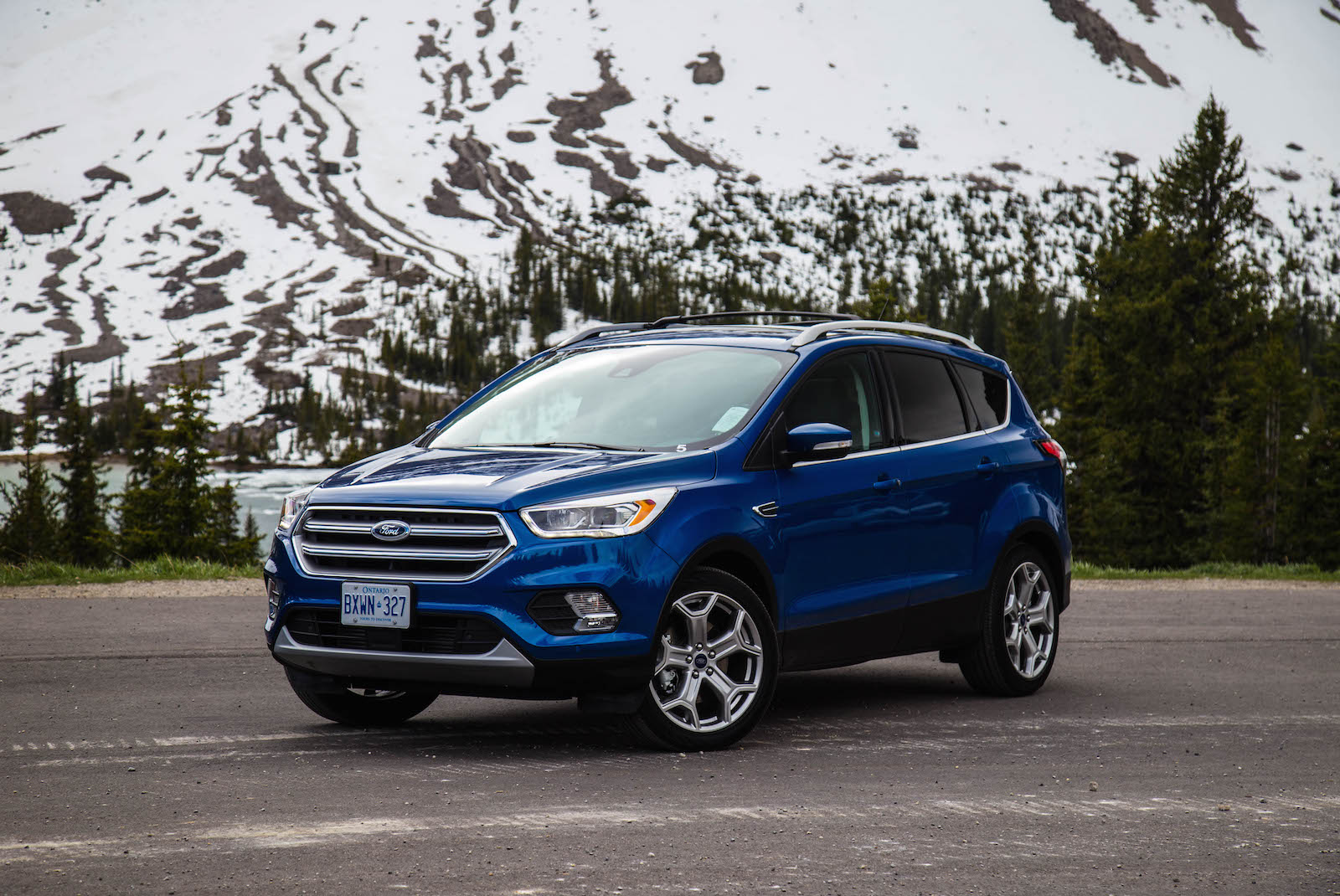 2017 ford escape lightning blue colour 2017 ford escape blue