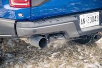 2017 Ford F-150 Raptor exhaust tips