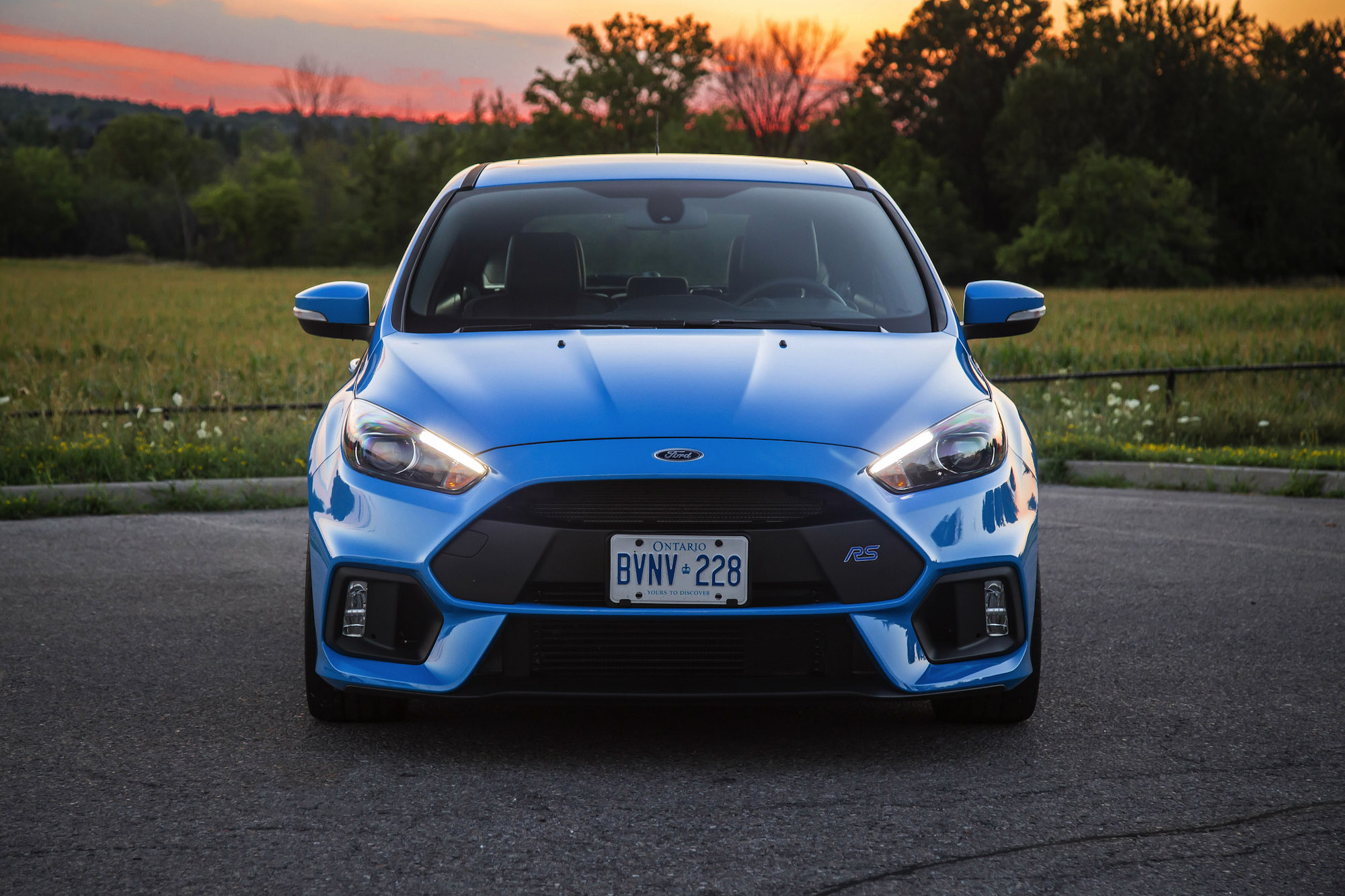 2017 Ford Focus RS nitrous blue ...