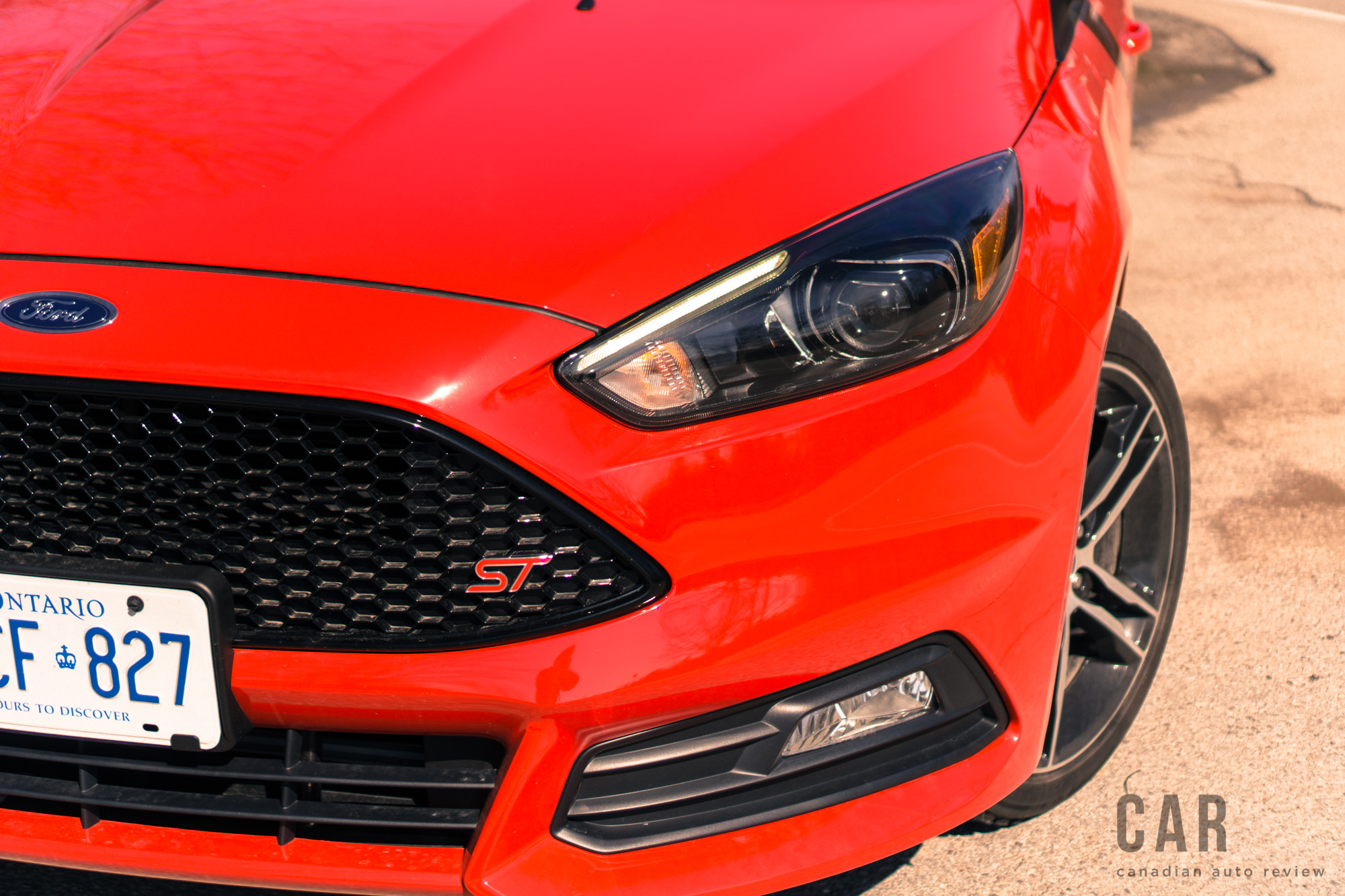 review  2017 ford focus st