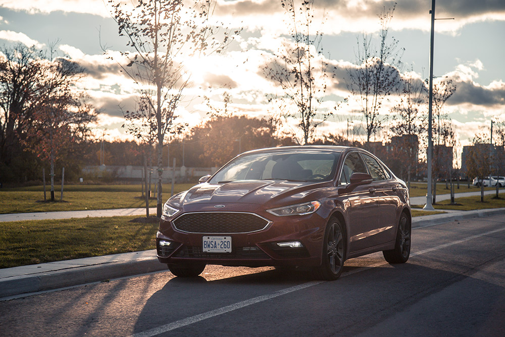 2017 Ford Fusion V6 Sport canada review