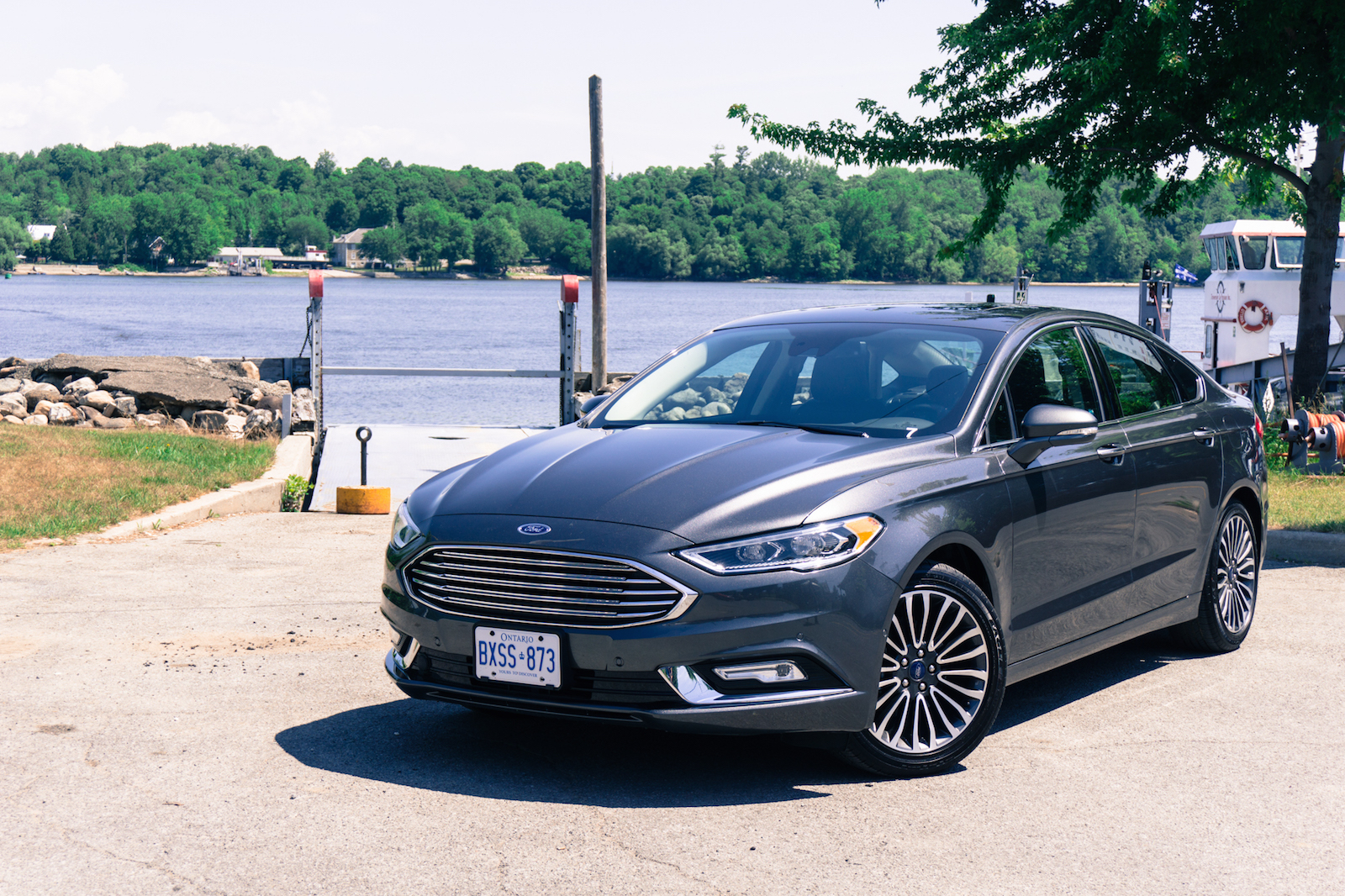 Ford Fusion Trunk Space >> First Drive: 2017 Ford Fusion | Canadian Auto Review