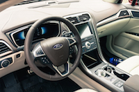 2017 Ford Fusion brown interior