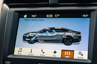 2017 Ford Fusion electric drive monitor