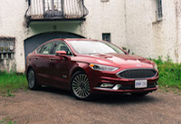 2017 Ford Fusion all electric hybrid car