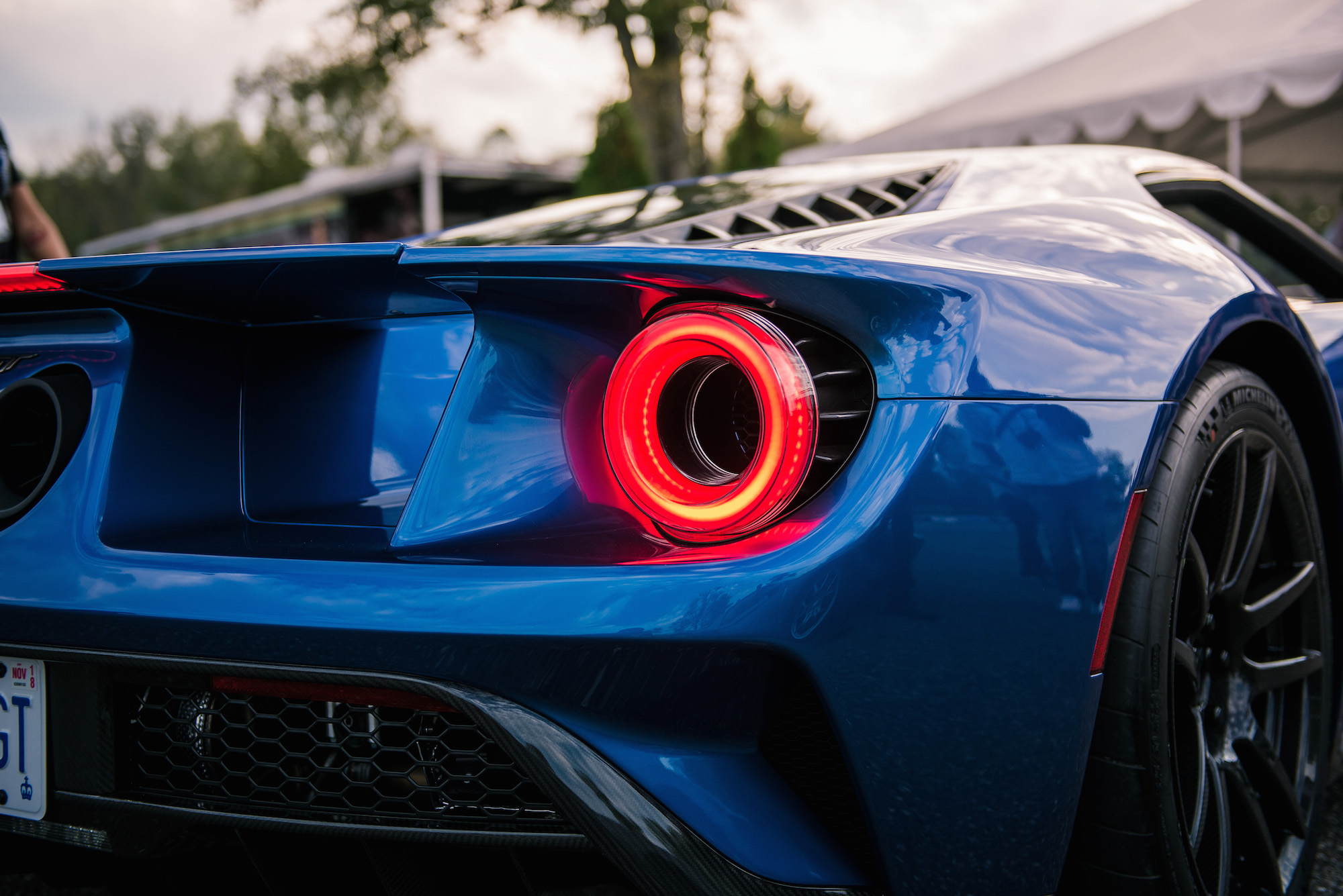 The Twin Turbocharged Ecoboost V To The Flying Buttress Design Of The B Pillar There Was Even An Iconic Ford Gt On Site For Us To Drool Over