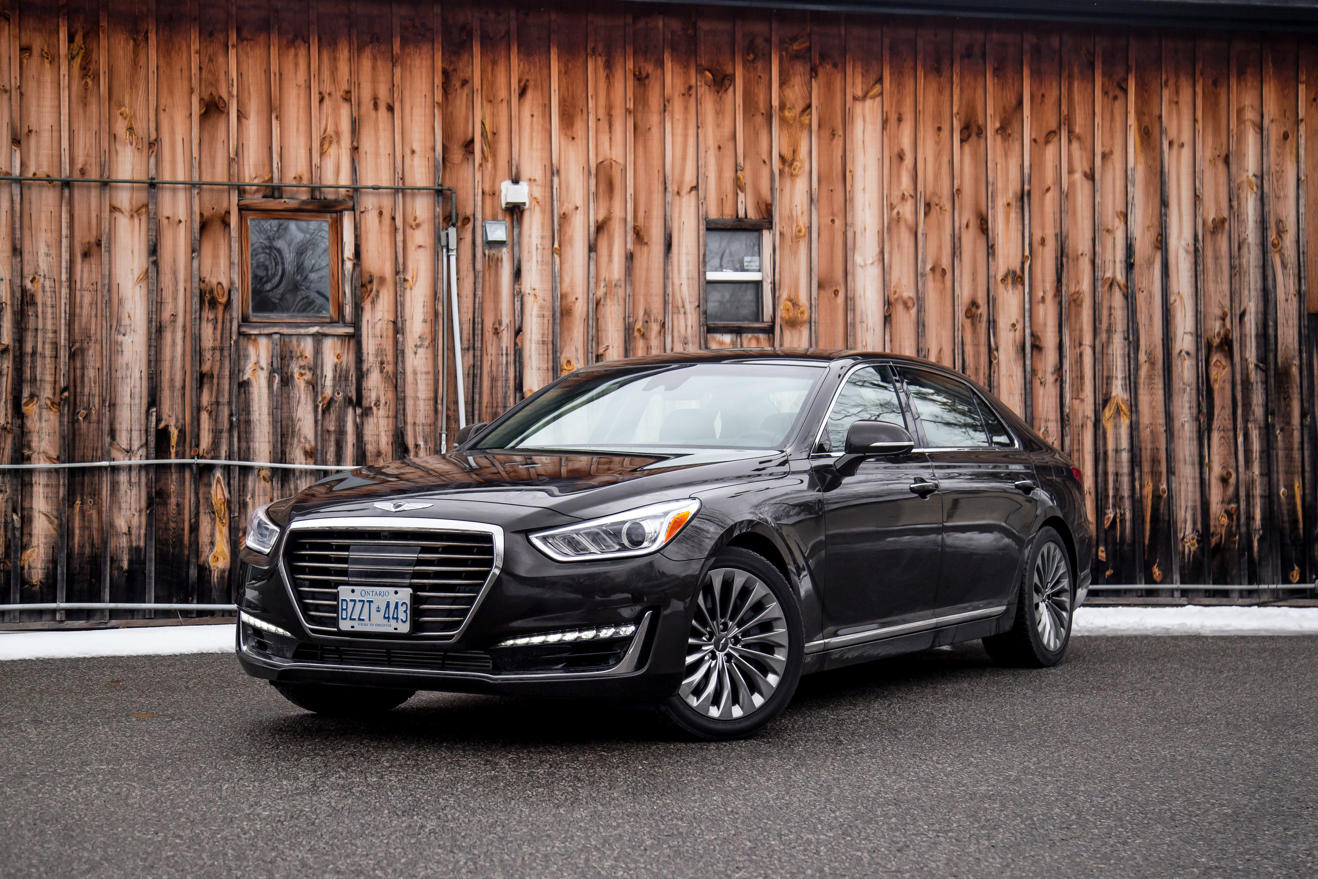 2017 Genesis G90 3.3T canada review new price