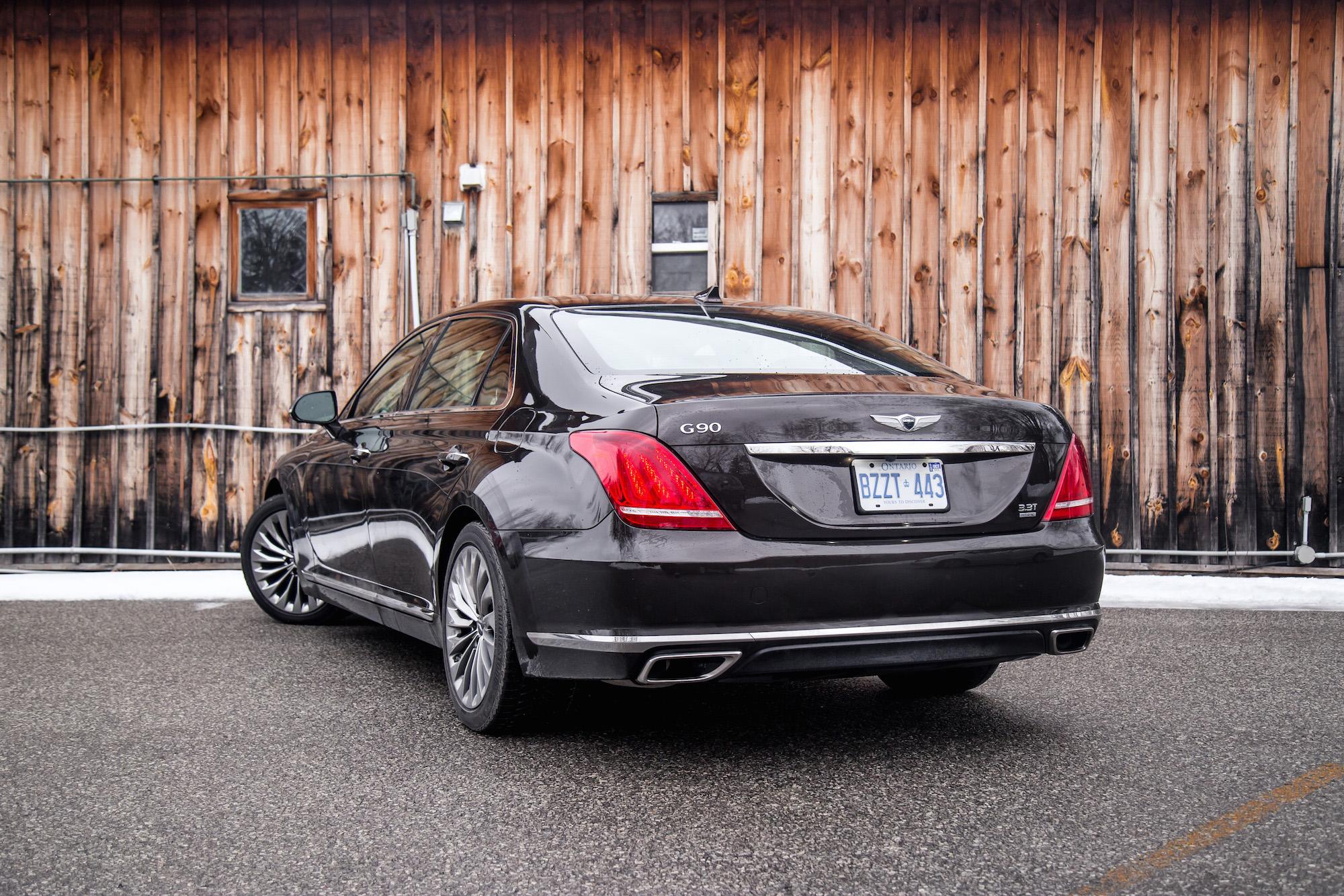 Lastest Review 2017 Genesis G90 33T  Canadian Auto Review