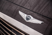 2017 Genesis G90 3.3T front winged badge