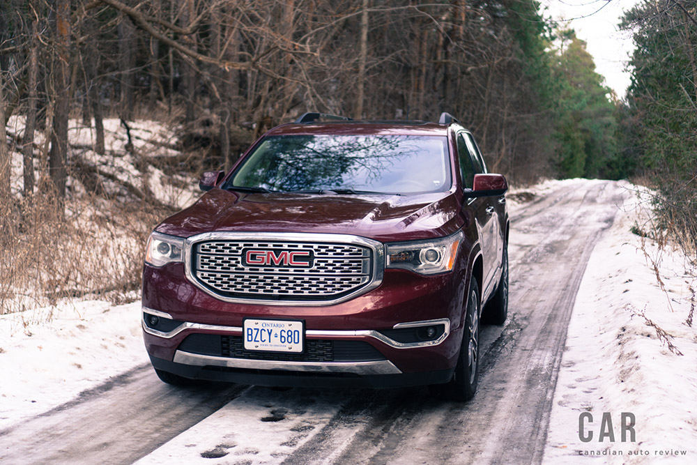 gmc acadia new for 2017
