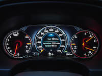 2017 GMC Acadia new gauges tach speedo