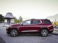 2017 GMC Acadia side view