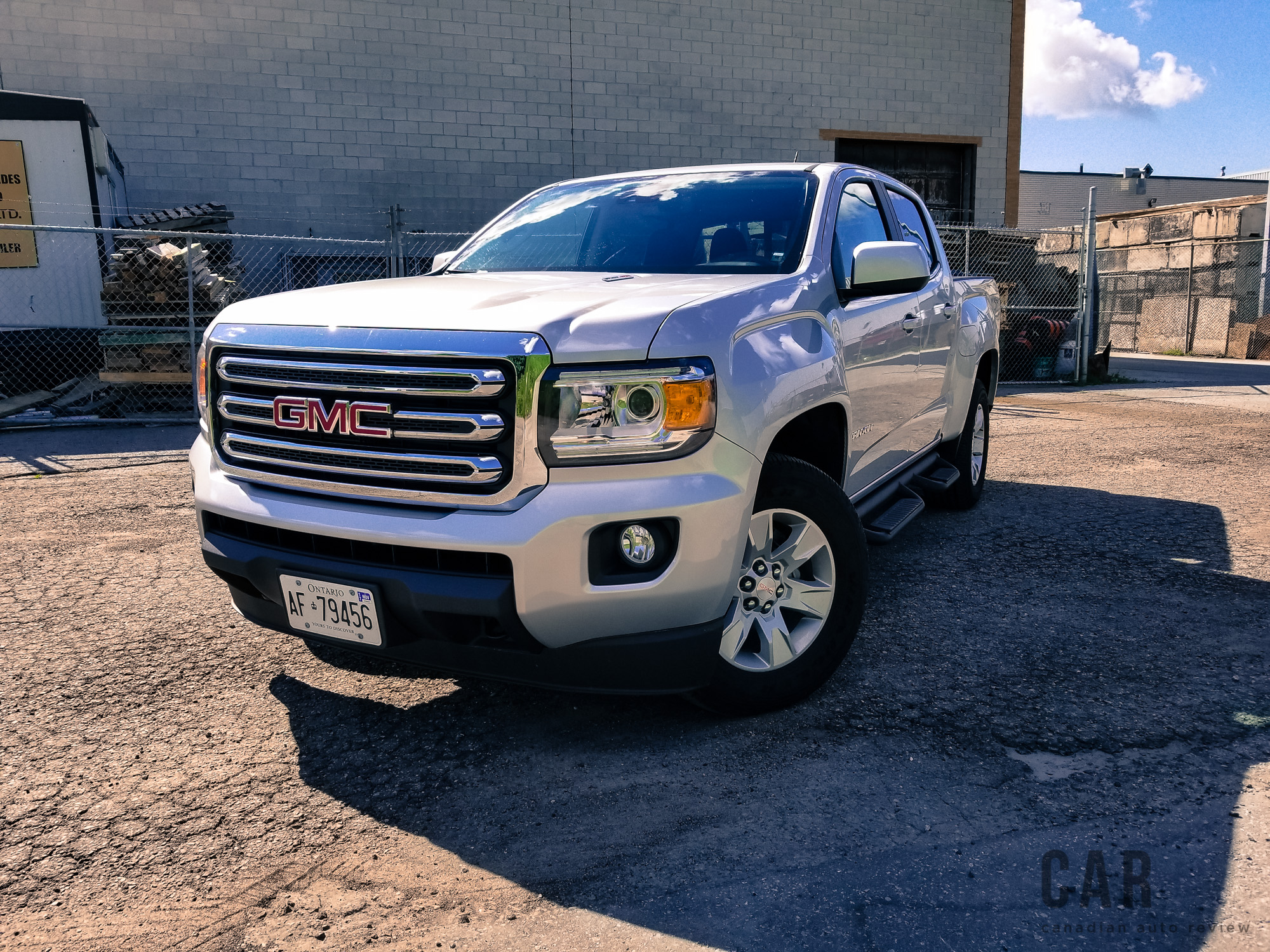 Review 2017 Gmc Canyon Sle 4wd Crew Cab Canadian Auto Review