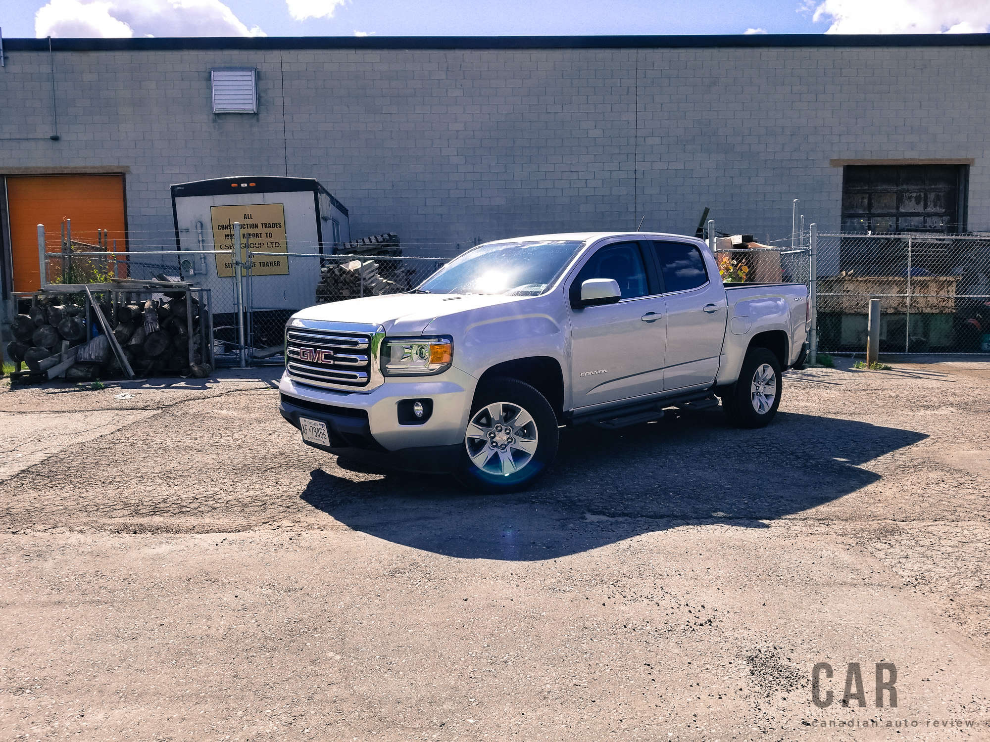 Review 2017 GMC Canyon SLE 4WD Crew Cab