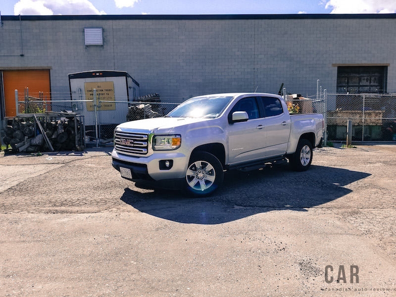 2017 GMC Canyon silver paint