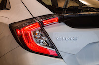 Honda Civic Hatchback LX Manual rear tail lights