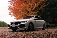 2017 Honda Civic Hatchback muskoka leaves