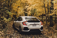 2017 Honda Civic Hatchback autumn canada
