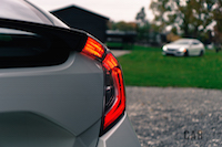 2017 Honda Civic Hatchback taillights