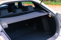 2017 Honda Civic Hatchback tonneau cover out