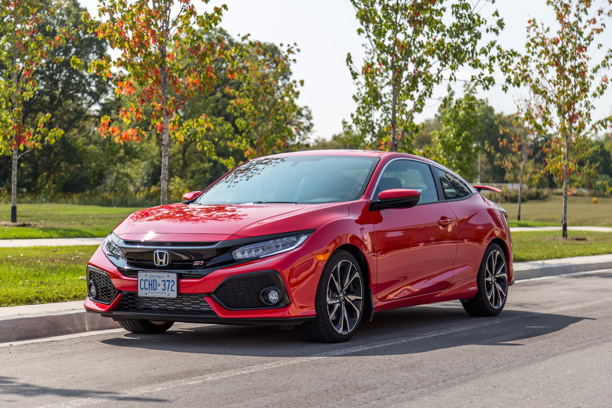 review 2017 honda civic si coupe canadian auto review. Black Bedroom Furniture Sets. Home Design Ideas