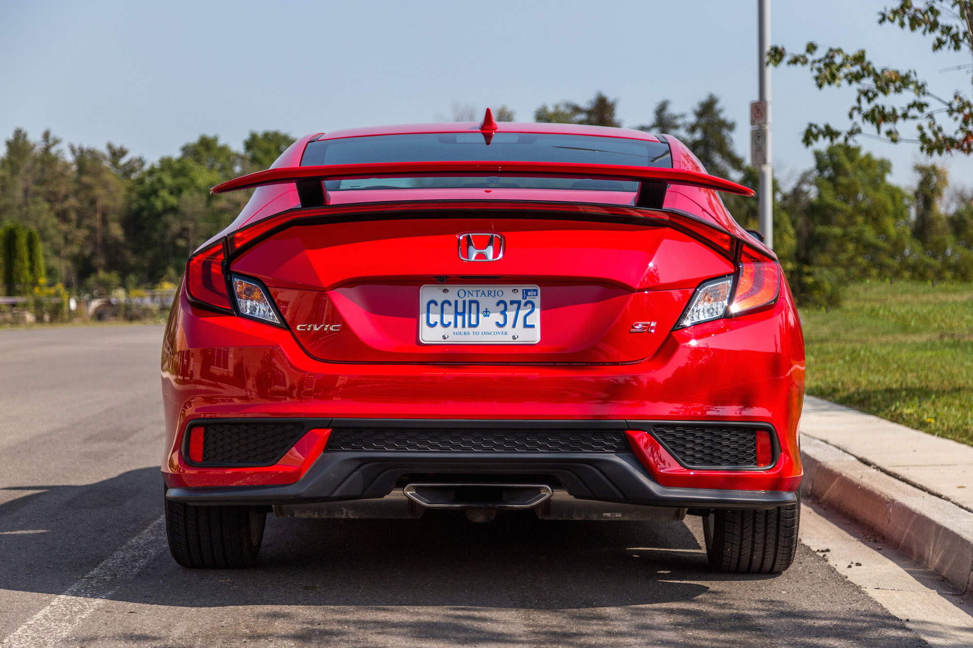 Review 2017 Honda Civic Si Coupe Canadian Auto Review