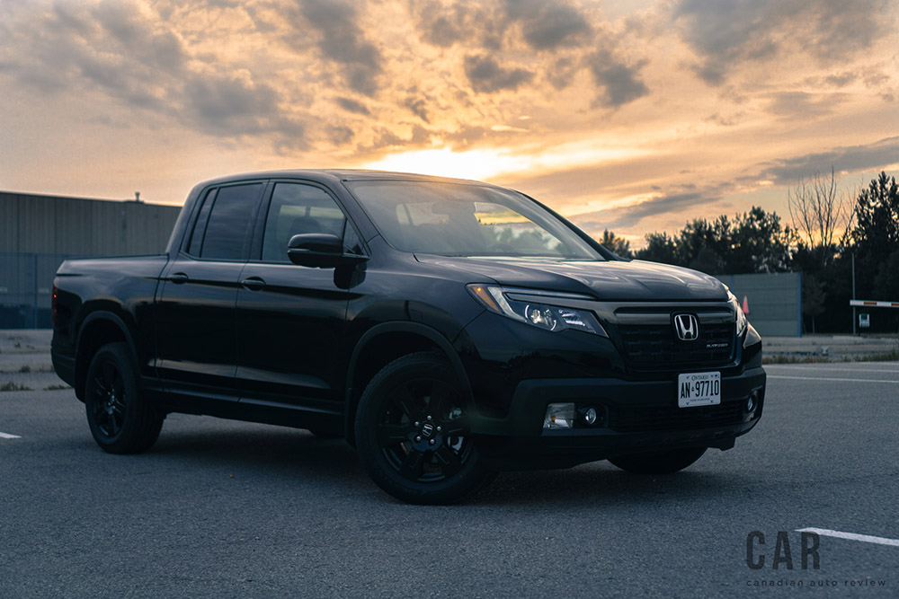 review 2017 honda ridgeline black edition canadian auto