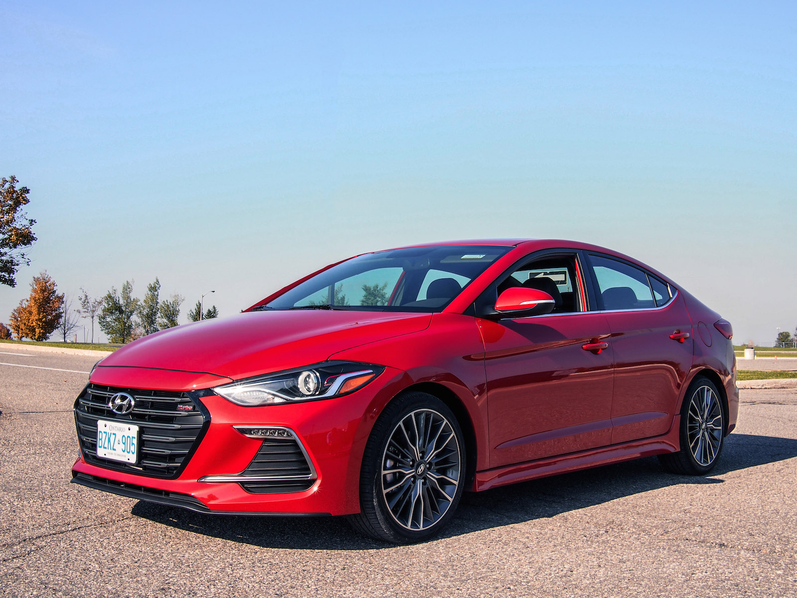 2017 hyundai elantra sport canadian auto review. Black Bedroom Furniture Sets. Home Design Ideas