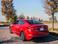 2017 Hyundai Elantra Sport new rear end