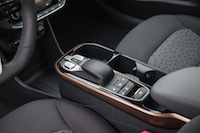 2017 Hyundai Ioniq Electric center console