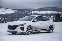 2017 Hyundai Ioniq Electric polar white
