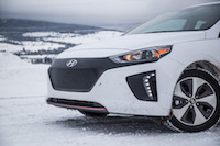 2017 Hyundai Ioniq Electric no front grill