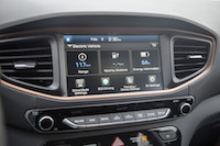 2017 Hyundai Ioniq Electric range display