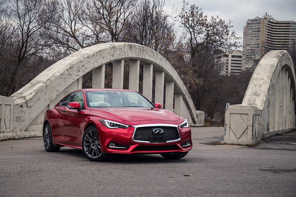 2017 Infiniti Q60 Red Sport AWD canada review