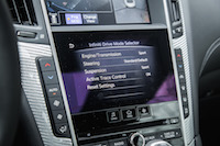 q60 personal drive mode selector