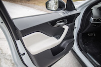 Jaguar F-Pace R-Sport door panel handles