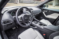 Jaguar F-Pace R-Sport jet light oyster interior