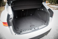 Jaguar F-Pace R-Sport trunk space cargo
