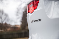 Jaguar F-Pace R-Sport rear badge