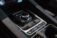 2017 Jaguar F-PACE S gear shifter rotary