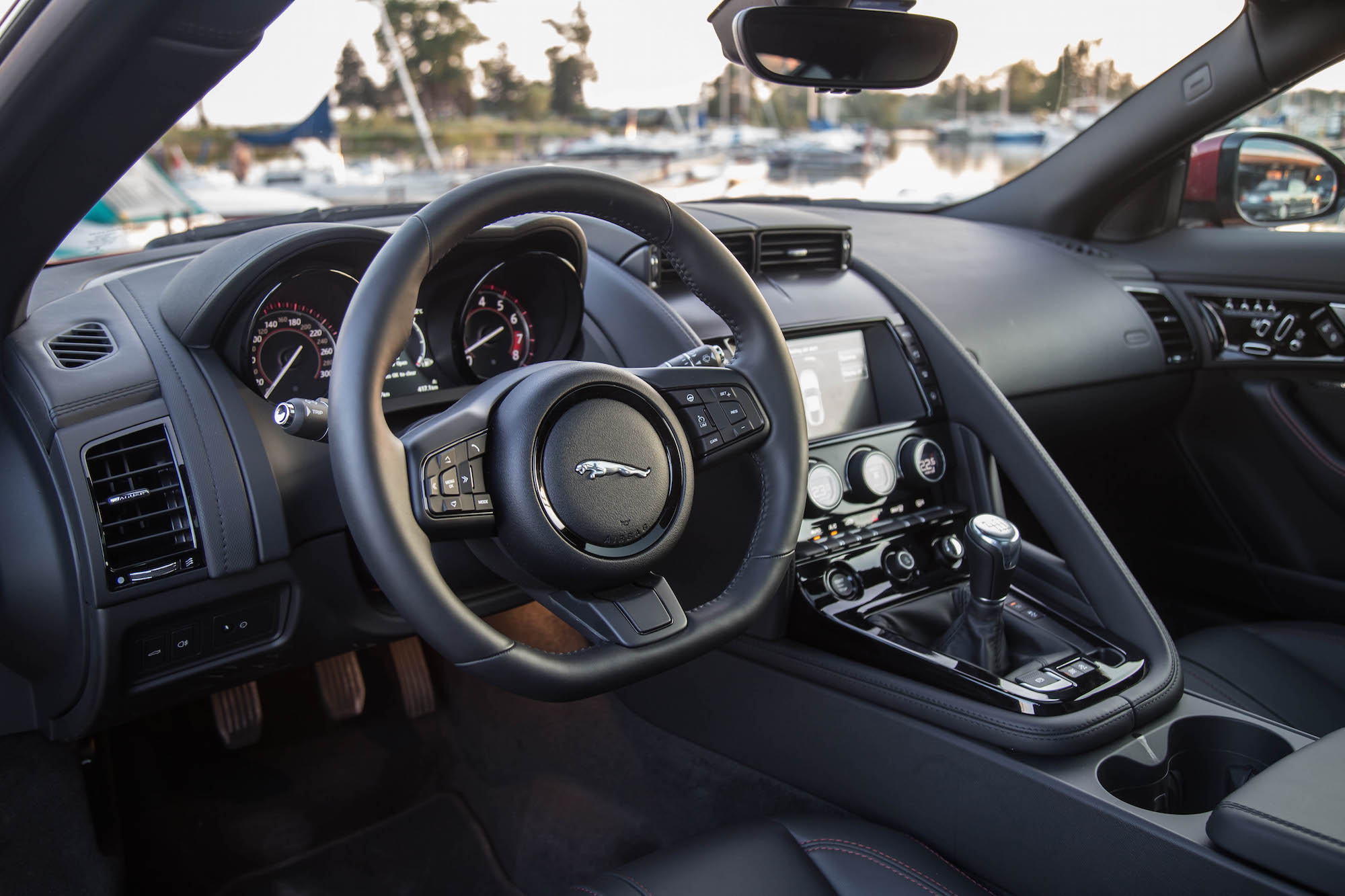 ... 2017 Jaguar F Type V6 S Coupe Manual Interior