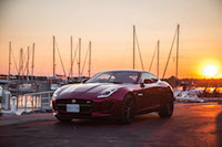 2017 Jaguar F-Type V6 S Coupe Manual sunset red