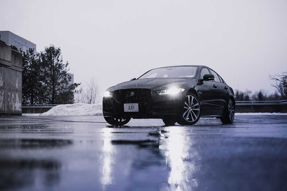 Jaguar XE 20d R-Sport ultimate black