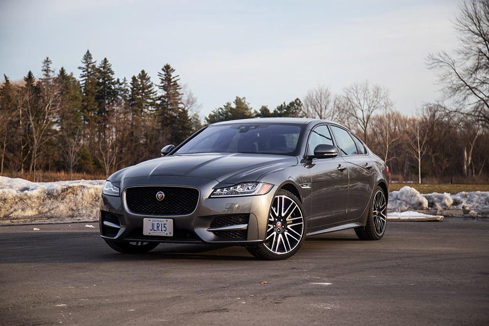 Creative Review 2017 Jaguar XF 20d RSport  Canadian Auto Review